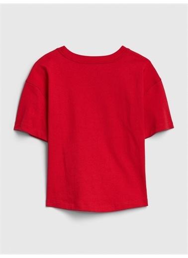 Gap Gap Logo Kısa Kollu T-Shirt Kırmızı